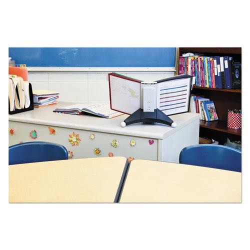 SHERPA Desk Reference System, 10 Panels, 10 x 5 5/8 x 13 7/8, Assorted Borders. Picture 15
