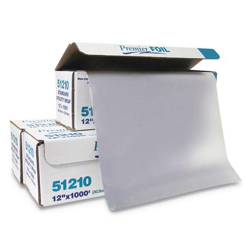 "Standard Aluminum Foil Roll, 12"" x 1,000 ft"