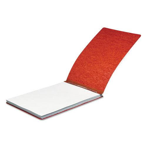 """Pressboard Report Cover, Spring Clip, Letter, 2"""" Capacity, Earth Red. Picture 1"""
