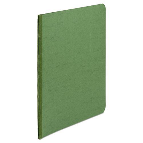"Presstex Report Cover, Side Bound, Prong Clip, Letter, 3"" Cap, Dark Green. Picture 2"