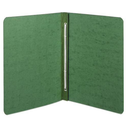 "Presstex Report Cover, Side Bound, Prong Clip, Letter, 3"" Cap, Dark Green. Picture 1"