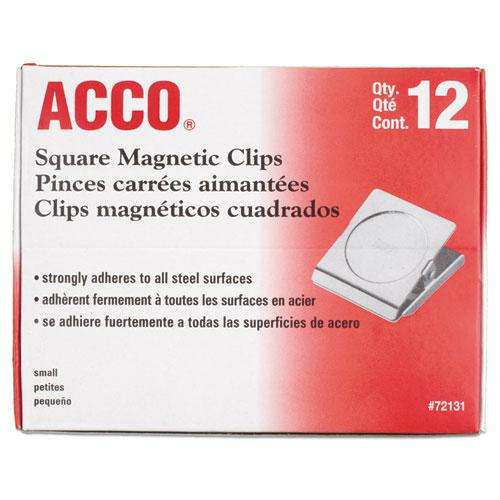"""Magnetic Clips, 0.88"""", Silver. Picture 2"""