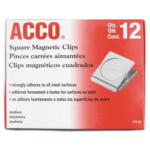 """Magnetic Clips, 1"""", Silver. Picture 2"""