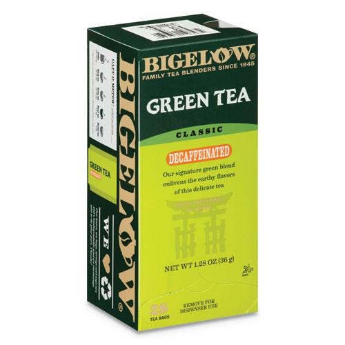 Decaffeinated Green Tea, Green Decaf, 0.34 lbs, 28/Box. Picture 1