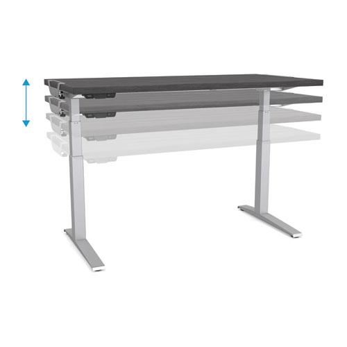 Levado Laminate Table Top (Top Only), 60w x 30d, Gray. Picture 3
