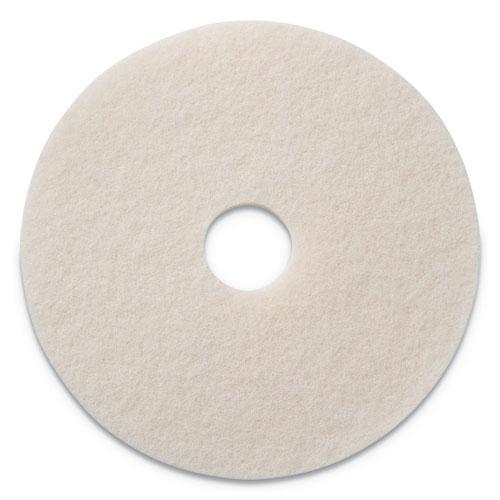 "Polishing Pads, 14"" Diameter, White, 5/CT. Picture 1"
