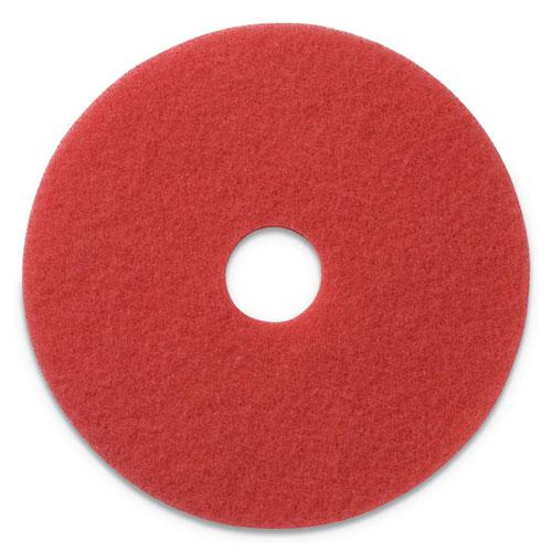 """Buffing Pads, 20"""" Diameter, Red, 5/CT. Picture 1"""
