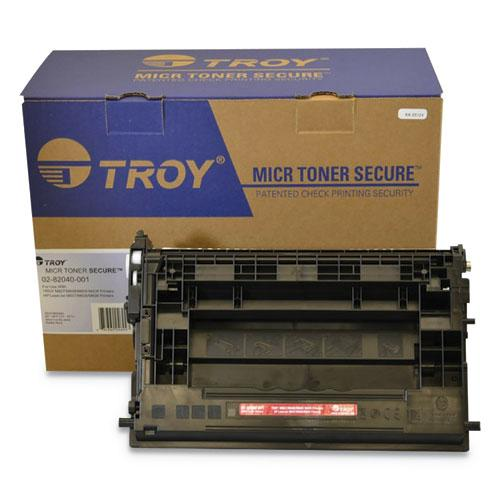 282040001 37A MICR Toner Secure, Alternative for HP CF237A, Black. Picture 1