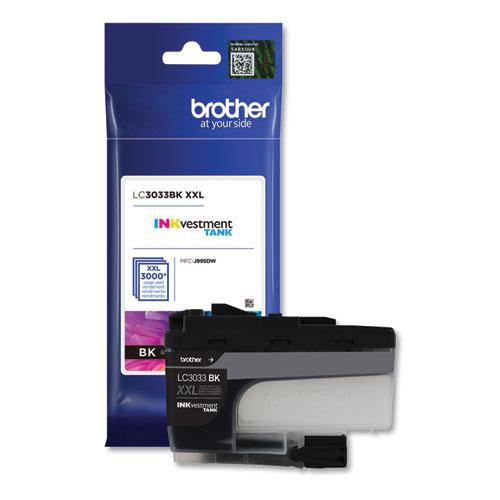 LC3033BK INKvestment Super High-Yield Ink, 3000 Page-Yield, Black. Picture 1