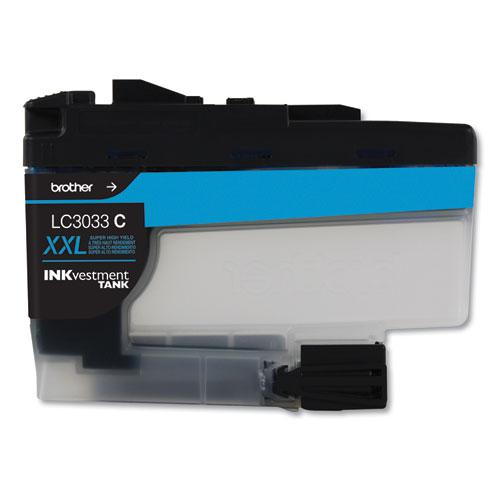 LC3033C INKvestment Super High-Yield Ink, 1500 Page-Yield, Cyan. Picture 1