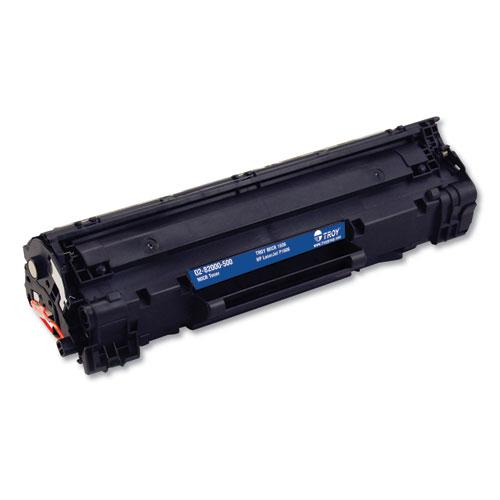 0282000500 78A MICR Toner, Alternative for HP CE278A, Black. The main picture.