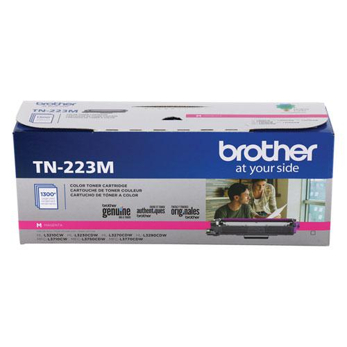 TN223M Toner, 1,300 Page-Yield, Magenta. Picture 1