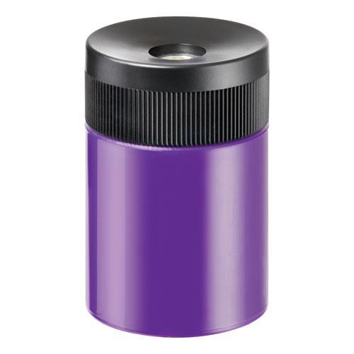 """Handheld Barrel Pencil Sharpener, 2.5"""" dia. x 3"""", Assorted Colors, 6/Box. Picture 1"""