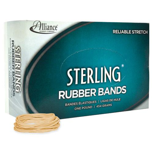 "Sterling Rubber Bands, Size 16, 0.03"" Gauge, Crepe, 1 lb Box, 2,300/Box. Picture 2"