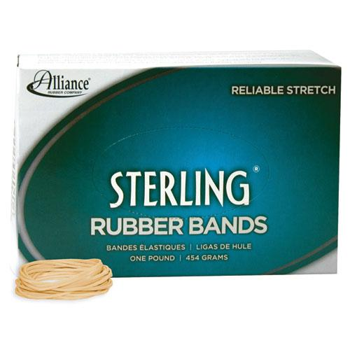 "Sterling Rubber Bands, Size 16, 0.03"" Gauge, Crepe, 1 lb Box, 2,300/Box. Picture 1"