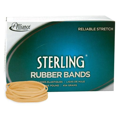 """Sterling Rubber Bands, Size 33, 0.03"""" Gauge, Crepe, 1 lb Box, 850/Box. Picture 1"""