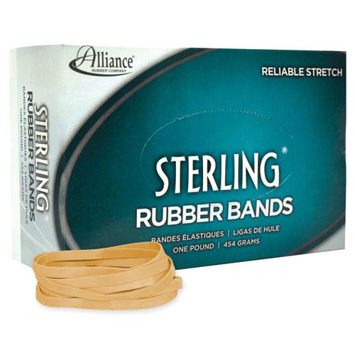"""Sterling Rubber Bands, Size 64, 0.03"""" Gauge, Crepe, 1 lb Box, 425/Box. Picture 2"""