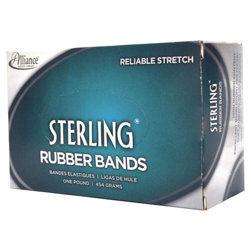 """Sterling Rubber Bands, Size 64, 0.03"""" Gauge, Crepe, 1 lb Box, 425/Box. Picture 3"""