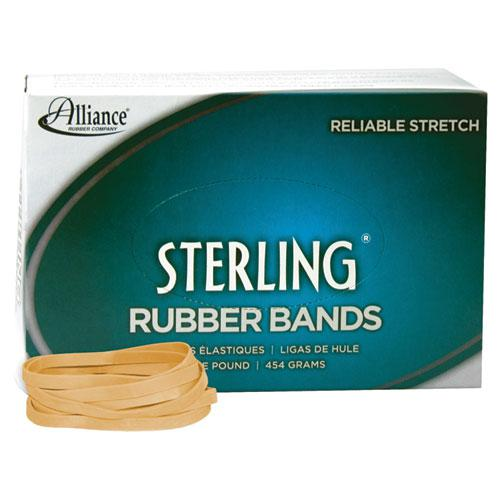 """Sterling Rubber Bands, Size 64, 0.03"""" Gauge, Crepe, 1 lb Box, 425/Box. Picture 1"""
