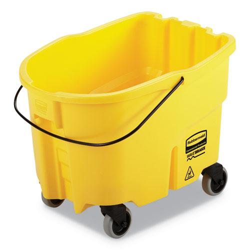 WaveBrake 2.0 Bucket, 26 qt, Plastic, Yellow. Picture 1