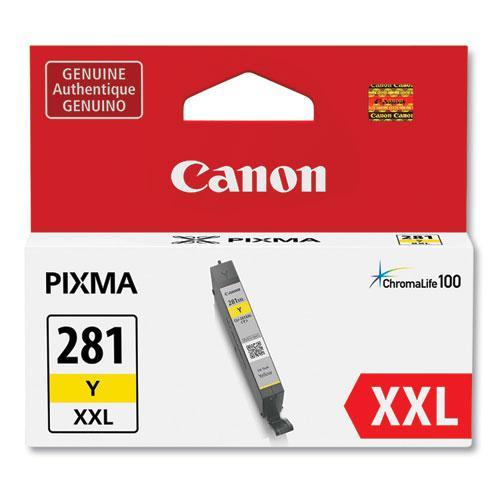 1982C001 (CLI-281XXL) ChromaLife100 Ink, Yellow. Picture 1