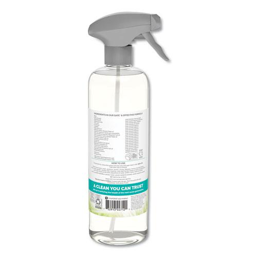 Natural Glass and Surface Cleaner, Sparkling Seaside, 23 oz, Trigger Bottle. Picture 2