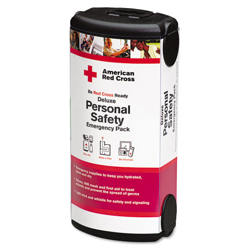 American Red Cross Personal Safety Pack for One Person, Nylon Backpack. Picture 2