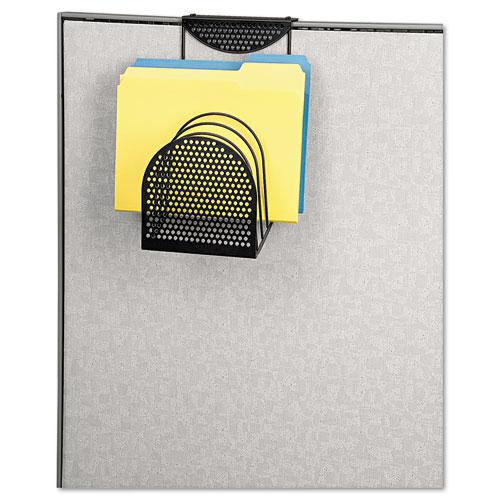 Perf-Ect Partition Additions Six-Step File Organizer, 7 x 13, Black. Picture 2