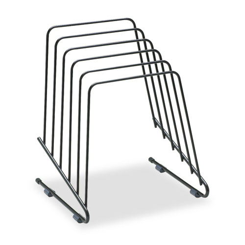 """Wire Step File II, 5 Sections, Letter to Legal Size Files, 7.25"""" x 6"""" x 8.25"""", Black. Picture 2"""