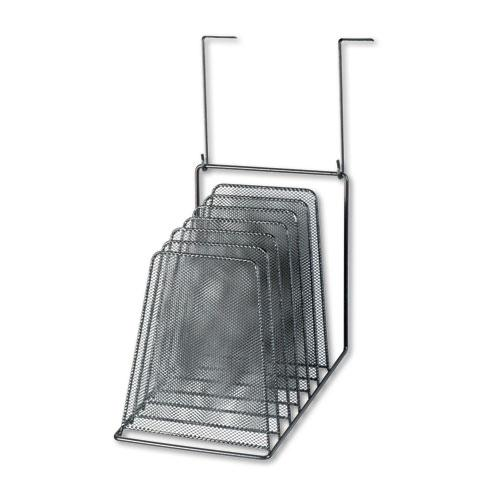 Mesh Partition Additions Six-Step File Organizer, 7.5 x 10.63 x 17, Black. Picture 1