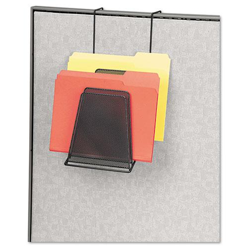 Mesh Partition Additions Six-Step File Organizer, 7.5 x 10.63 x 17, Black. Picture 2