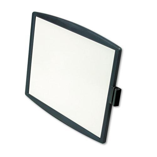 Partition Additions Dry Erase Board, 15 3/8 x 13 1/4, Dark Graphite Frame. Picture 2