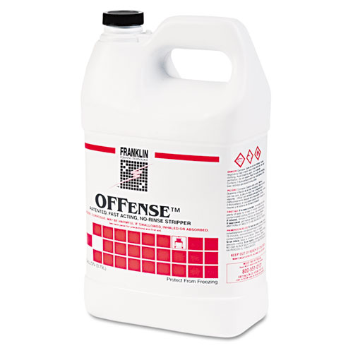 OFFense Floor Stripper, 1gal Bottle, 4/Carton. Picture 1