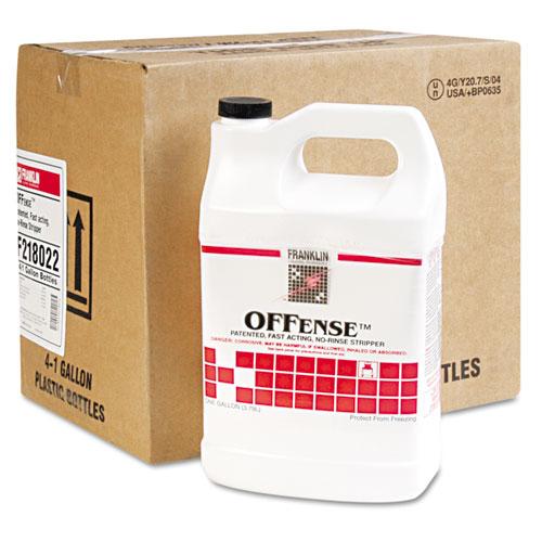 OFFense Floor Stripper, 1gal Bottle, 4/Carton. Picture 2