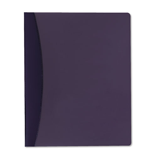 Report Cover w/Hidden Swing Clip, Letter Size, Blue. Picture 1