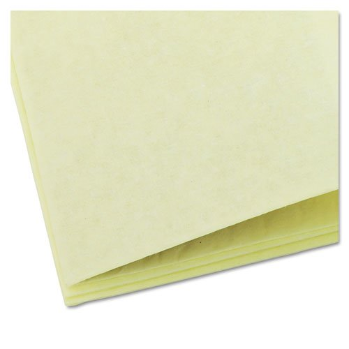Dusting Cloths Quarterfold, 17 x 24, Yellow, 50/Pack, 4 Packs/Carton. Picture 4