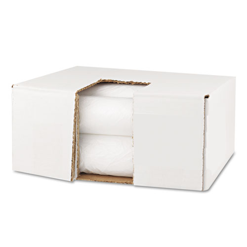 """High Density Can Liners, 10 gal, 6 microns, 24"""" x 23"""", Natural, 1,000/Carton. Picture 4"""