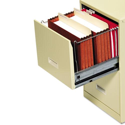 """File Cabinet Pockets, 3.5"""" Expansion, Letter Size, Redrope, 10/Box. Picture 2"""