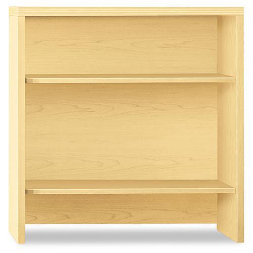 Valido Series Bookcase Hutch, 36w x 14.63d x 37.5h, Natural Maple. Picture 1