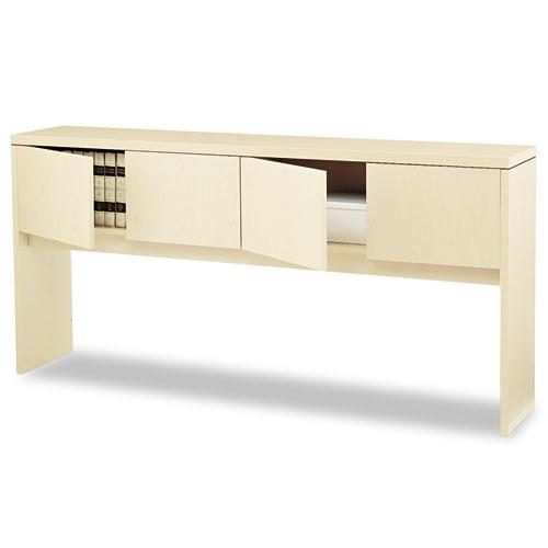 Valido Series Stack-On Storage, 78w x 14.63d x 37.5h, Natural Maple. Picture 1