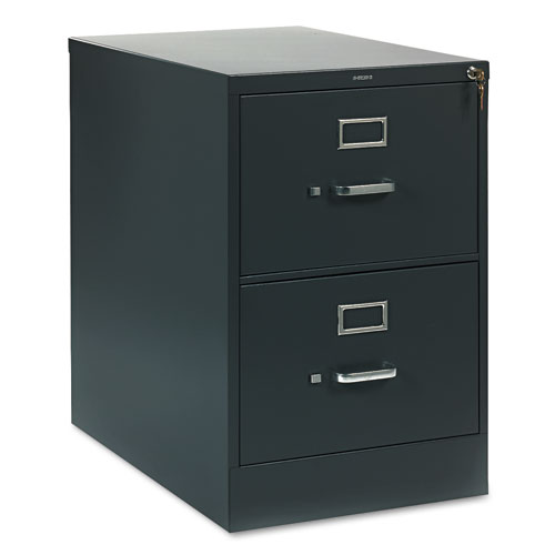 310 Series Two-Drawer Full-Suspension File, Legal, 18.25w x 26.5d x 29h, Charcoal. Picture 1