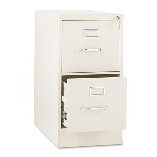 310 Series Two-Drawer Full-Suspension File, Letter, 15w x 26.5d x 29h, Putty. Picture 1