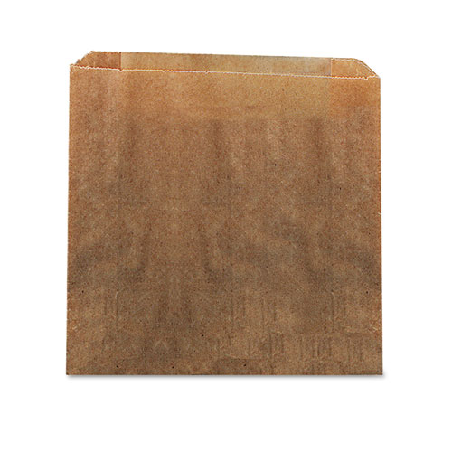 """Waxed Kraft Liners, 10.5"""" x 9.38"""", Brown, 250/Carton. Picture 1"""