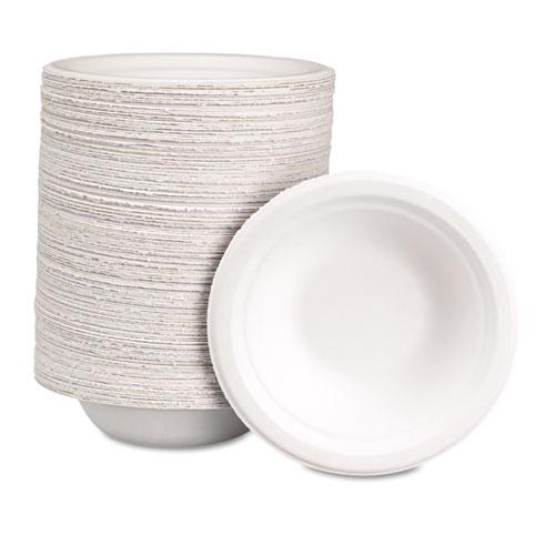Classic Paper Bowl, 12oz, White, 1000/Carton. Picture 4