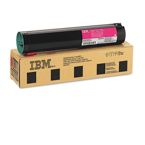 39V2213 Toner, 22,000 Page-Yield, Magenta. Picture 2