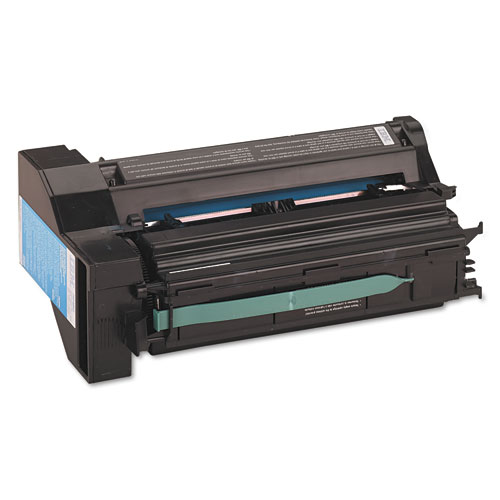 75P4052 Toner, 6000 Page-Yield, Cyan. Picture 1