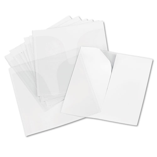 Self-Adhesive CD/DVD Sleeves, 10/Pack. Picture 2