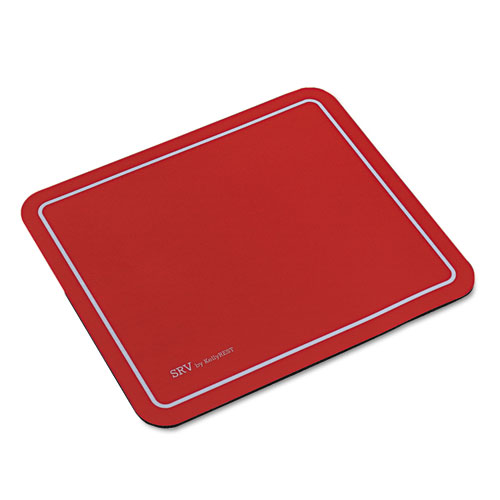 Optical Mouse Pad, 9 x 7-3/4 x 1/8, Red. Picture 1