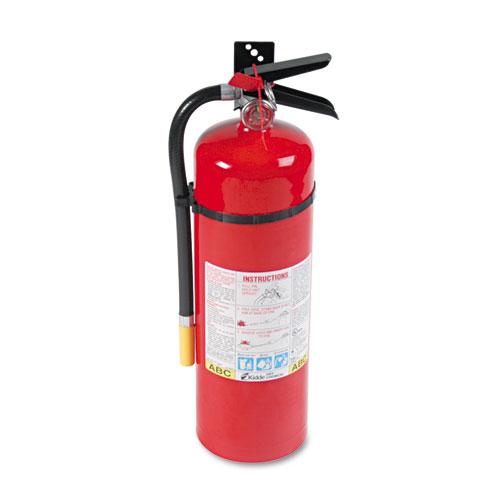 ProLine Pro 10MP Fire Extinguisher, 4 A, 60 B:C, 195psi, 19.52h x 5.21 dia, 10lb. Picture 1