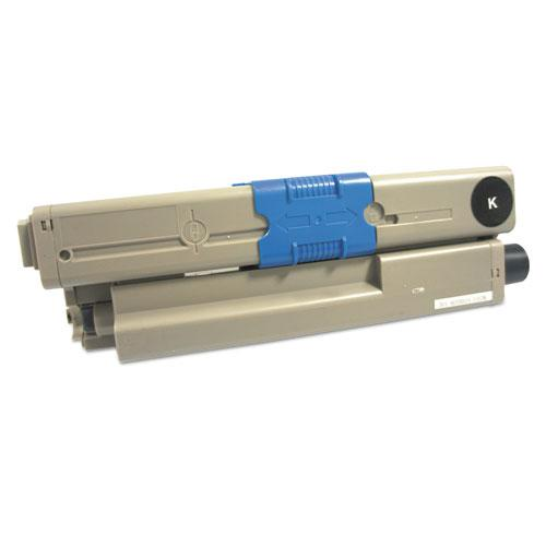 Remanufactured Black Toner, Replacement for Oki 44469801, 3,500 Page-Yield. Picture 1